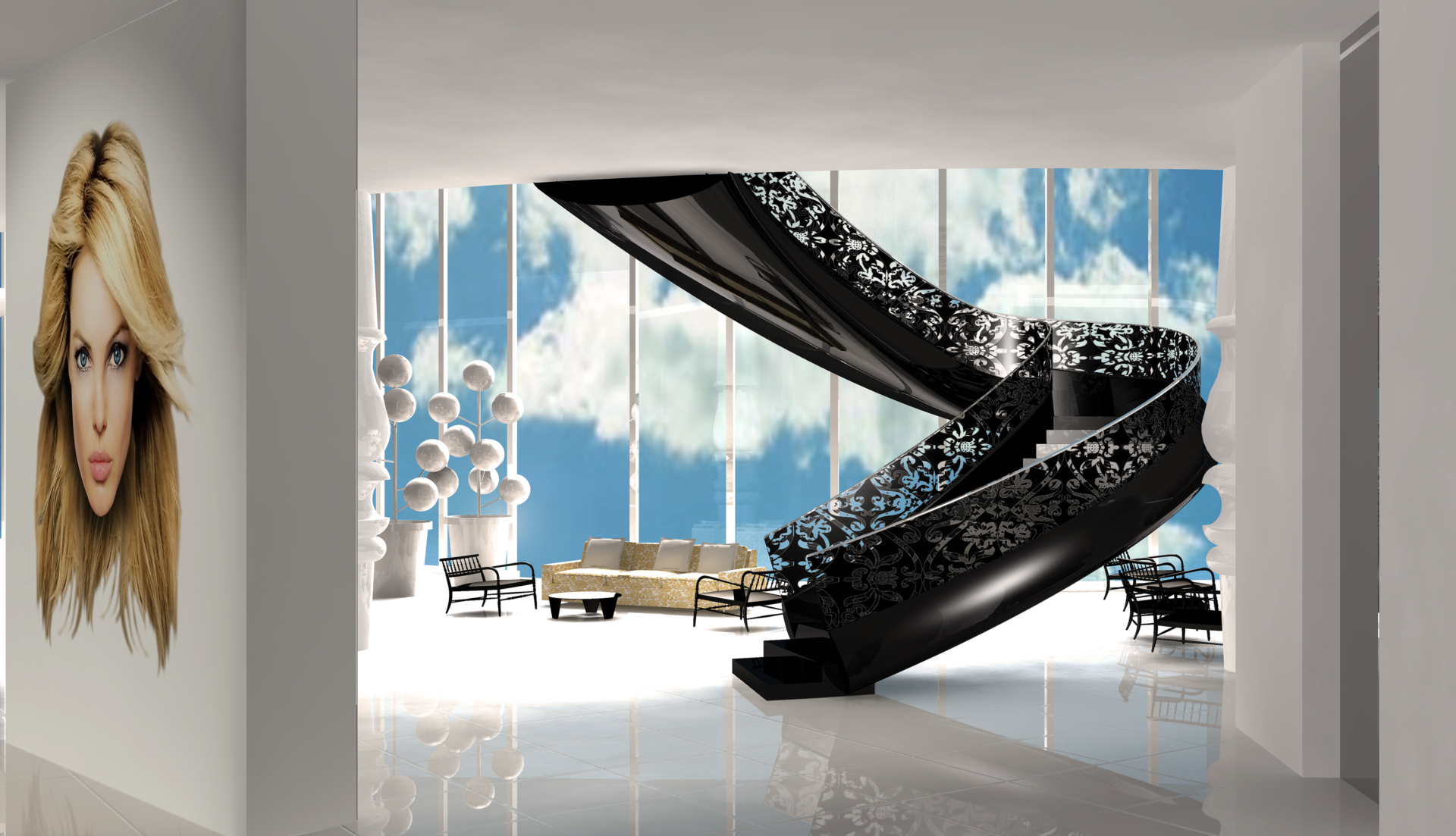 Mondrian south beach glamour tour operator for Marcel wanders opere